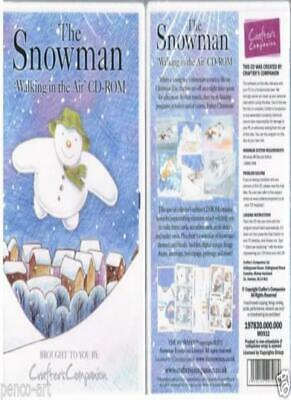 Crafters Companion CDrom Walking in the Air The Snowman by raymond briggs.