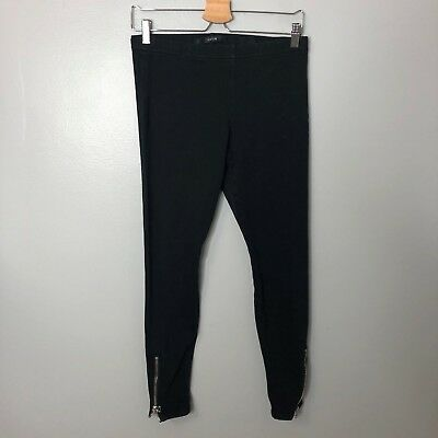 375fbd6bf7012 Joe's Jeans Black Leggings Jeggings Sz S Zipper Ankle Womens Stretch Elastic