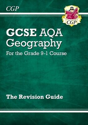 CGP Books - New Grade 9-1 GCSE Geography AQA Revision Guide