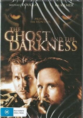 The Ghost In The Darkness - Michael Douglas & Val Kilmer - New & Sealed Dvd