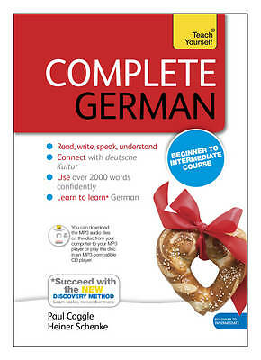 Complete German Beginner to Intermediate Book and Audio Course. Learn to read, w