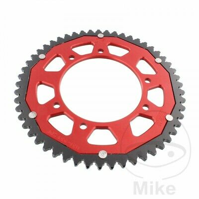 ZF Dual Red Rear Sprocket (53 Teeth) Aprilia RX 50 2010