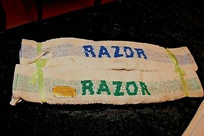 vintage gents shaving accessories shaving towels   b/2254