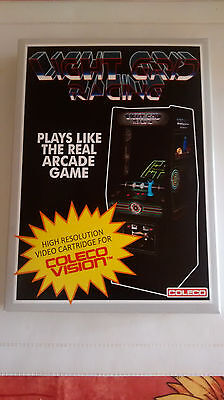 "Light Grid Racing "" Tron "" Cbs Colecovision (Boite Vide)"