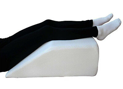 Memory Foam Leg Raiser Knee Pillow Foot Rest Wedge Swollen Legs Support OL16