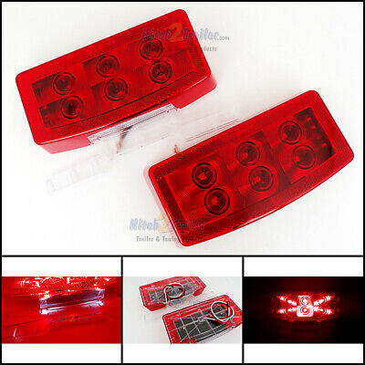 LED RV Camper Trailer Motorhome combination tail light Stop Tail Turn Optronics