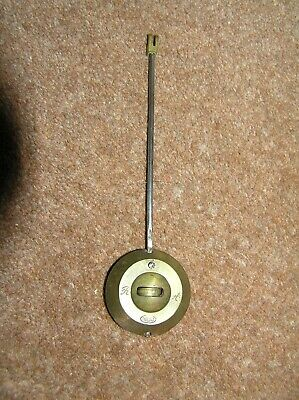 Vintage R. A. Thieble French Clock Pendulum  Bob Rod Nut 7971