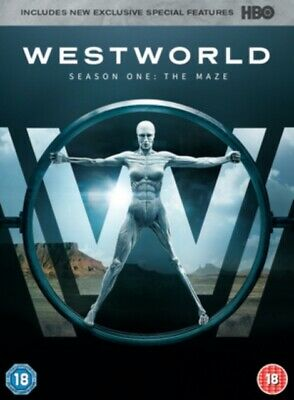 Westworld: Season One - The Maze *NEW* DVD / with Digital Download
