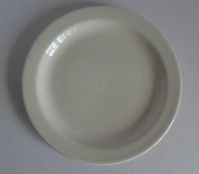 "Midwinter Wedgwood Stonehenge White 7"" Bread & Butter Plates Set of 4 England"