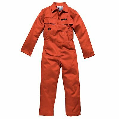 Dickies Proban Size 44 Cotton Coverall Overalls In Orange - Workshop / Pits
