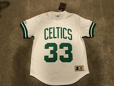 524ac75d3 NEW Authentic Mitchell   Ness Larry Bird Boston Celtics NBA Men s Jersey ...