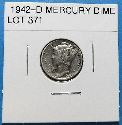 1943-S  Mercury Dime ~ For Collection Set Or Gift ~ Combined Shipping Lot 372