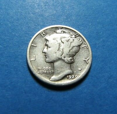 1929  Mercury Dime ~ For Collection Set Or Gift Idea ~ Combined Shipping Lot 328