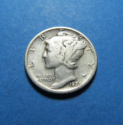 1929-S  Mercury Dime ~ For Collection Set Or Gift ~ Combined Shipping Lot 323