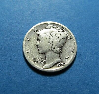 1929-S  Mercury Dime ~ For Collection Set Or Gift ~ Combined Shipping Lot 324