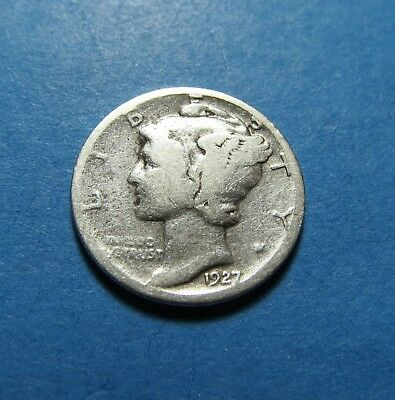 1927-D  Mercury Dime ~ For Collection Set Or Gift ~ Combined Shipping Lot 335