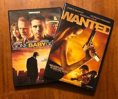 Wanted & Gone Baby Gone DVDs