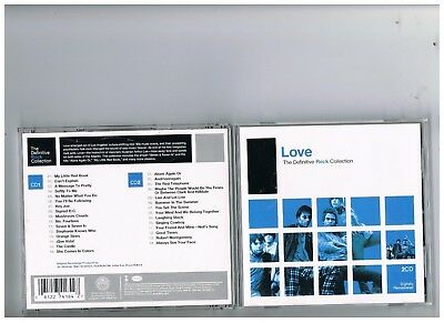 Love 2 Cd Set.definitive Rock Collection.the Best Of..greatest Hits.arthur Lee