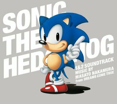 [New] Sonic The Hedgehog 1 and 2 Soundtrack Original Game Music 3 CD JAPANESE