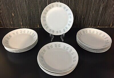 Arabia Finland Rice Porcelein Bread Plates in Mint Condition (15 Available) ✨