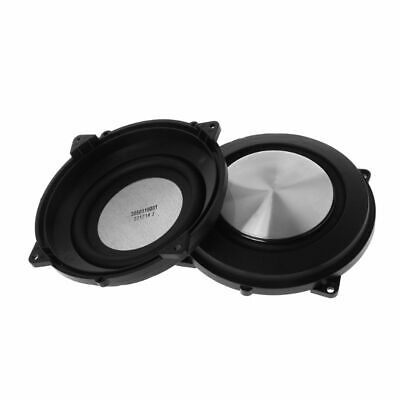 2PC Passive Radiator 120mm Woofer Speaker Bass Membrane Vibration Accessories