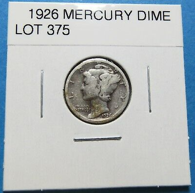 1926  Mercury Dime ~ For Collection Set Or Gift Idea ~ Combined Shipping Lot 375