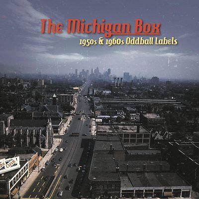 ✦✦THE MICHIGAN BOX ✦✦KILLER PRIMITIVE ROCKABILLY & ROCK'N'ROLL 10 CDs+208 PAGES