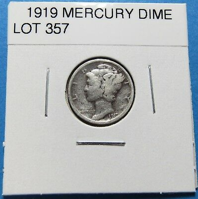 1919  Mercury Dime ~ For Collection Set Or Gift Idea ~ Combined Shipping Lot 357