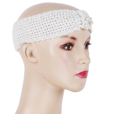 Toddler Infant Baby Girl Boy Knitted Headbands Knotted Head Wrap Band B