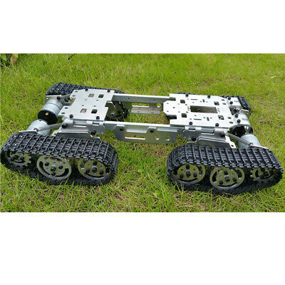 Smart Robot Car Chassis Kit w Shock Absorption Wheel & 4WD Motor for Arduino