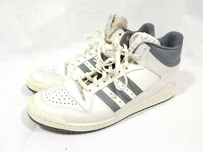 9159713f65b3b4 Vintage 80 s Silver Tag Adidas High Top Basketball Sneakers Size 12