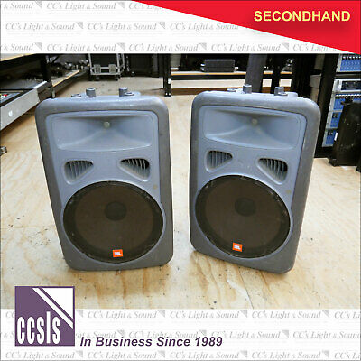 "JBL EON15 15"" & Horn Passive Speaker Grey - Sold as a Pair"