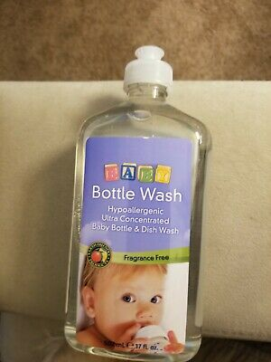 Earth Friendly Products Baby Bottle Wash, Fragrance Free,  Hypoallergenic