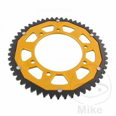ZF Dual Gold Rear Sprocket (53 Teeth) Rieju RRX 50 2008-2009