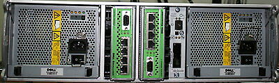Dell EqualLogic PS6000 16 bay Hard drive Array with 2x controller module 7