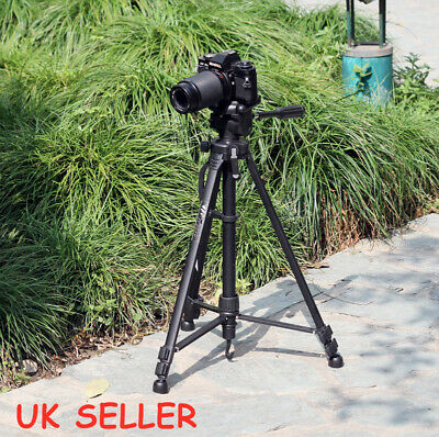 Stretchable Digital Camera Tripod Holder Professional Travel Canon Nikon DSLR UK