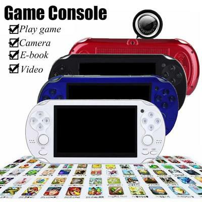 "8G 32Bit 4.3"" Portable Handheld Game Console Player 10000+ Games MP4 MP5 LOT"