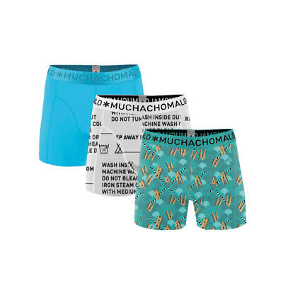 Muchachomalo 3-Pack Boys Take Care Of Your Boxershort, 176