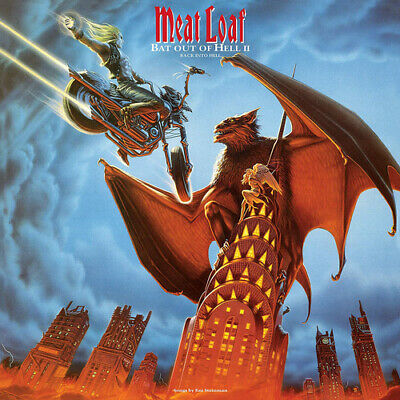 "Meat Loaf : Bat Out of Hell II: Back Into Hell VINYL 12"" Album 2 discs (2019)"