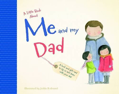 Robbard, J-A Little Bk About Me & My Dad Book New