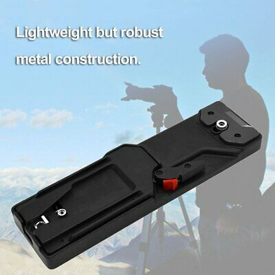 Video Camcorder Camera Tripod V-mount Quick Release Durable Plate Adapter VCT-ES