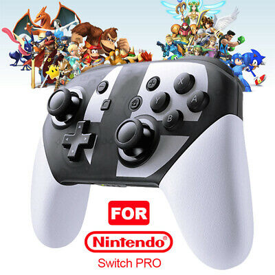 Wireless Bluetooth Pro Controller Gamepad For Nintendo Switch Super Smash Bros
