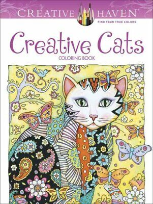 Creative Haven Creative Cats Coloring Book by Marjorie Sarnat 9780486789644