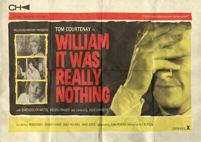 The Smiths William, It Was Really Nothing A3 film style poster