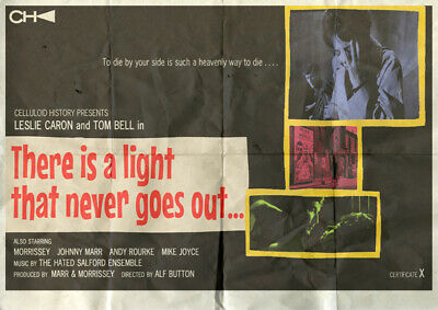 The Smiths There Is A Light That Never Goes Out A3 film style poster