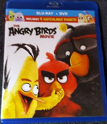 The Angry Birds Movie (Blu-ray) Free shipping!