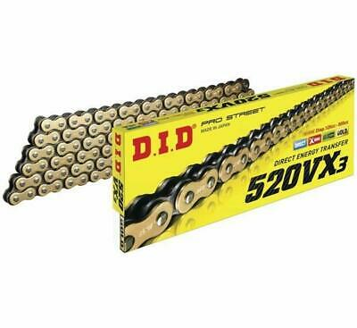 DID 520 VX3 x 36 Gold Black X-Ring Chain Suzuki LT-Z 400 Quadsport 2003-2017