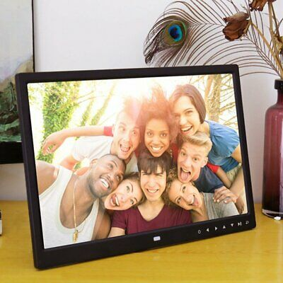 Digital Photo Frame 1209T 12 Inches Electronic Picture Frame Clock Calendar ❃⚡✤