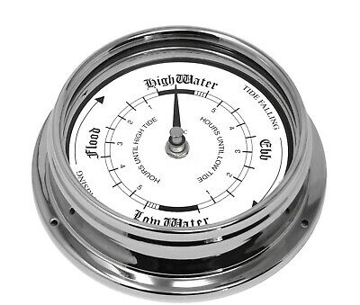 Half Price Clearance, Chrome Tide clock. 50% OFF!!!!  Limited