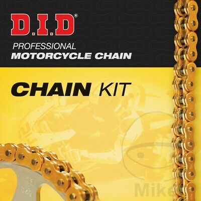 DID X-Ring Gold 530ZVMX Chain & JT Sprocket Kit 17/43 Honda VFR 800 FI 2001